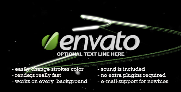 After Effects Project - VideoHive Logo Stroke 239990