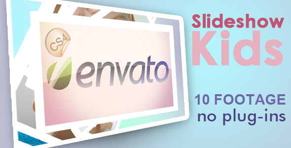 After Effects Project - VideoHive Slideshow Kids 240157