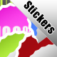 Cool Stikers and gradient Style - GraphicRiver Item for Sale