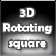 Rotating square 3D - ActiveDen Item for Sale