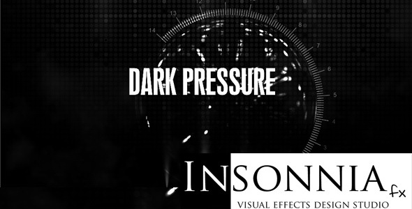 After Effects Project - VideoHive Dark Pressure 240746