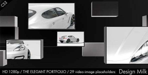 VideoHive The Elegant Portfolio 2124670