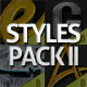 Styles Pack II Premium Photoshop Styles - GraphicRiver Item for Sale