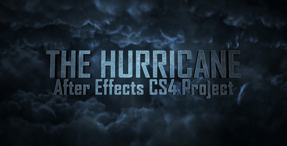 After Effects Project - VideoHive The Hurricane Titles 241332