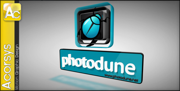 VideoHive AC 3D Logo Intro The Emitter 2129068
