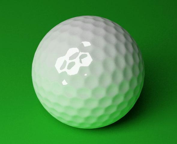 3DOcean Golf Ball 3DS MAX 80417