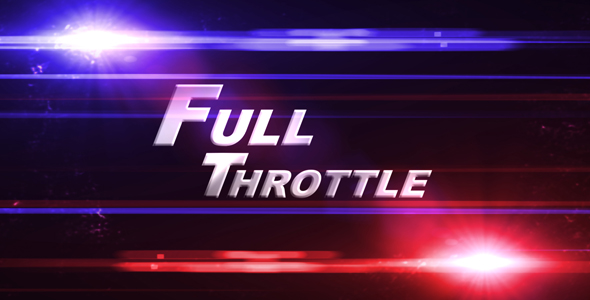After Effects Project - VideoHive Full Throttle 241746