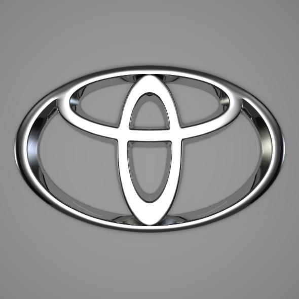 3DOcean Toyota Logo 233201