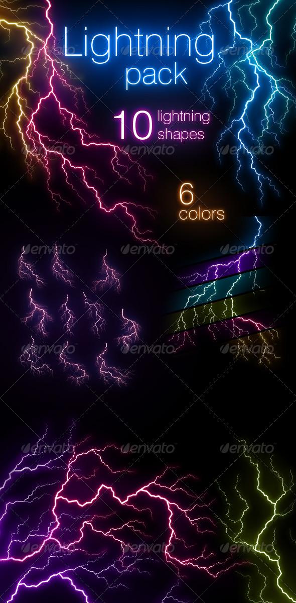 GraphicRiver Lightning Pack 241868