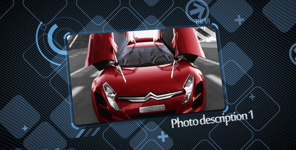 After Effects Project - VideoHive Hi-tech display 2135723
