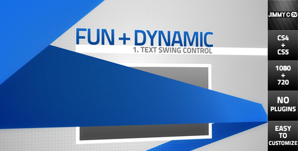 After Effects Project - VideoHive Corporate Swing HD 242098