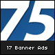 17 Web Marketing Banner Ads  - GraphicRiver Item for Sale
