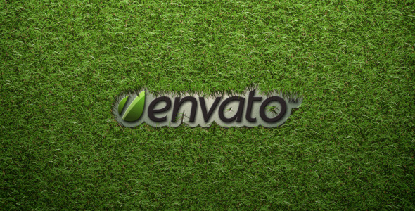 VideoHive Logo On The Grass 2136669