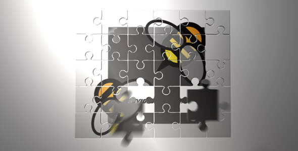 After Effects Project - VideoHive Puzzle Your Logo 242372