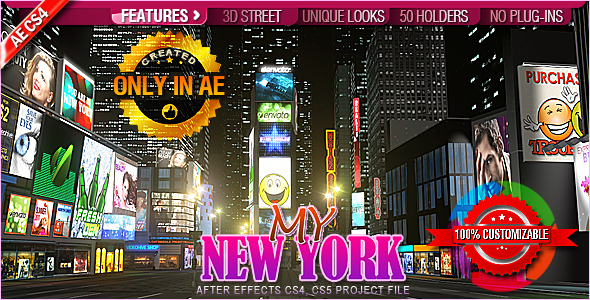 After Effects Project - VideoHive My New York 242422
