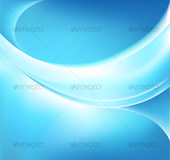 GraphicRiver Vector Glowing Blue Backgound 80672