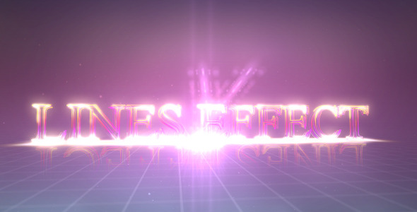 After Effects Project - VideoHive Lines Effect 2143190