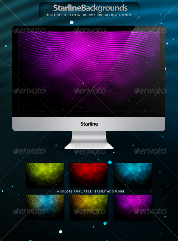 GraphicRiver Starline Backgrounds 80803