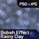 Bokeh Effect - Rainy Day - GraphicRiver Item for Sale