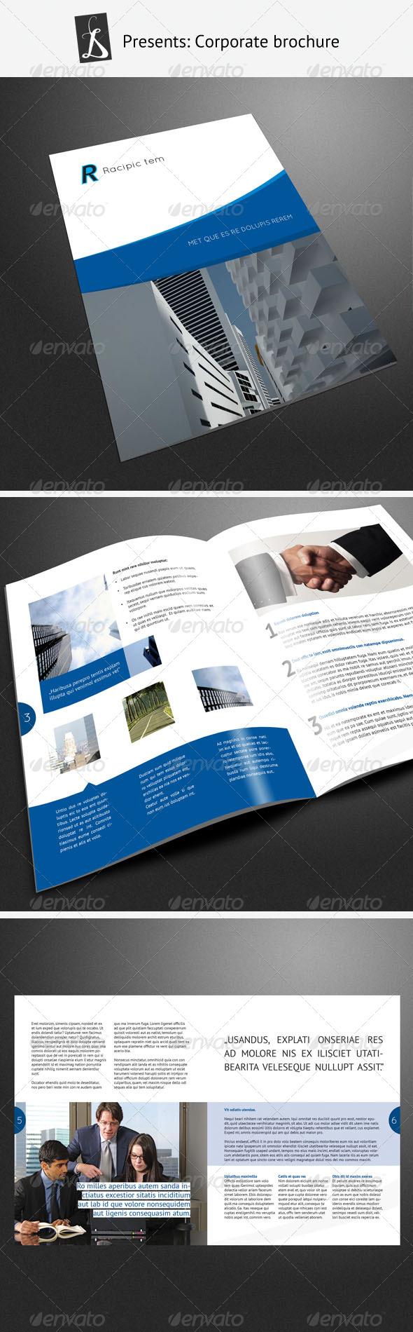 GraphicRiver Corporate Brochure 4 243330