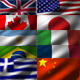 12 Looped Animated World Fabric Flags (HD) - VideoHive Item for Sale