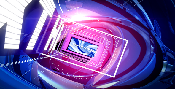 VideoHive Pink Blue 2095452