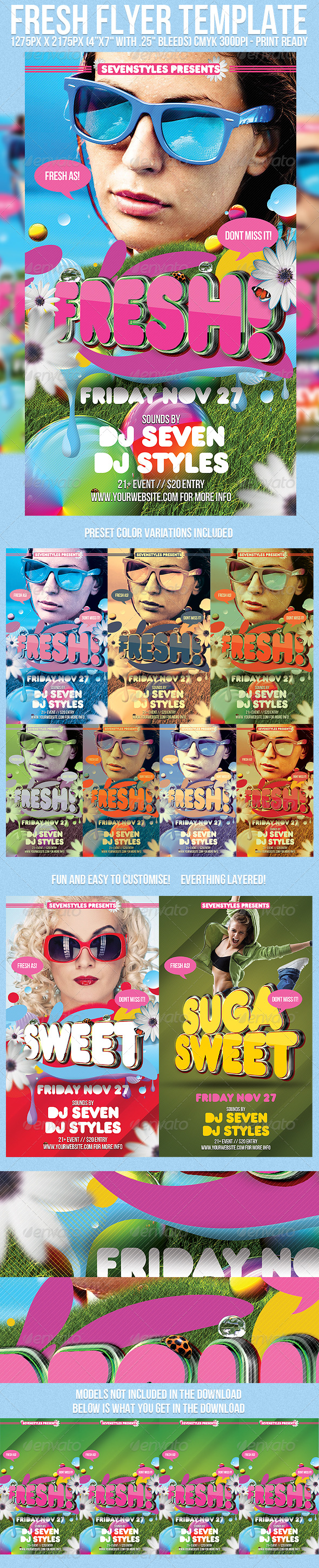 GraphicRiver Fresh Flyer Template 243819