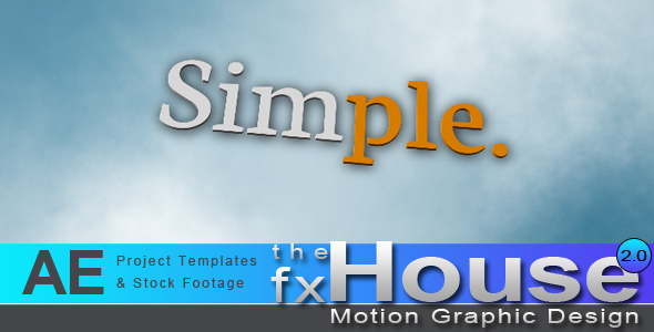 After Effects Project - VideoHive Simple 244091