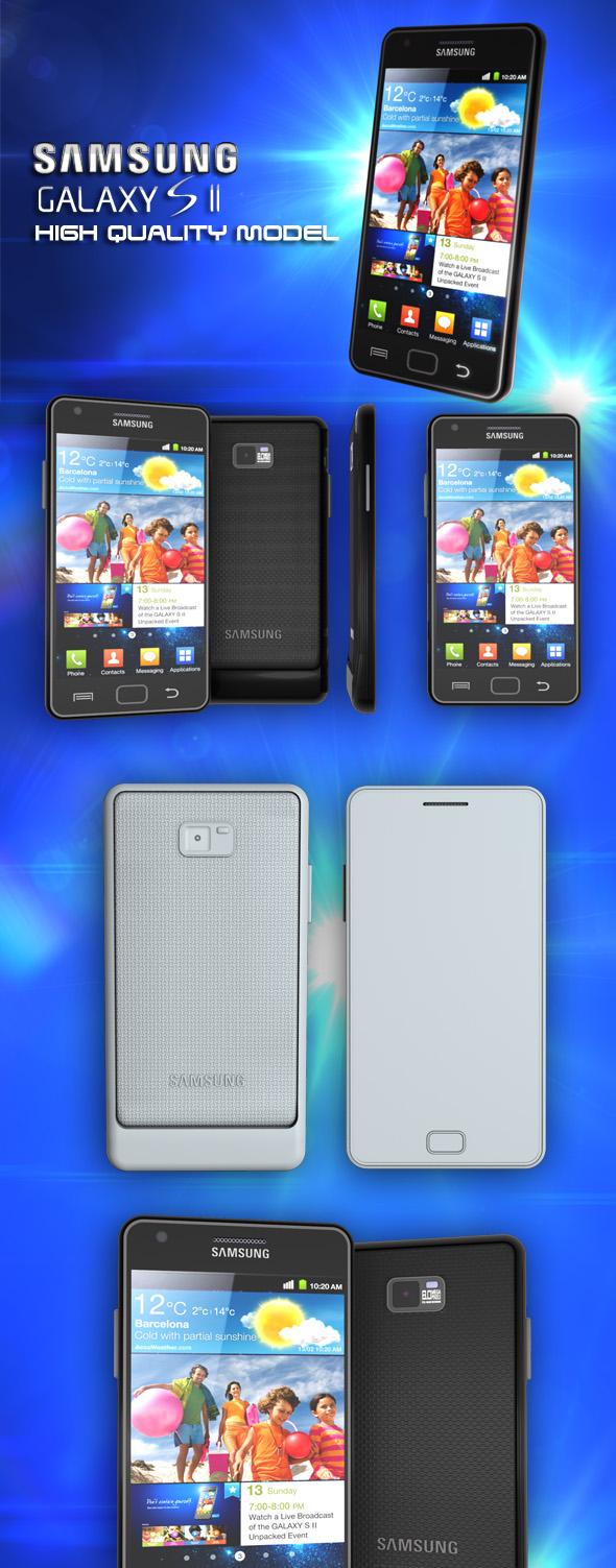 3DOcean Samsung Galaxy S II 244134