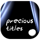 Precious Titles - VideoHive Item for Sale