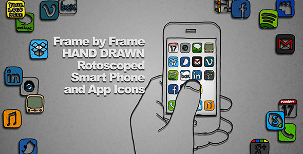 After Effects Project - VideoHive Hand Drawn Smart Phone 2156257
