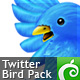 Twitter Bird Pack - GraphicRiver Item for Sale