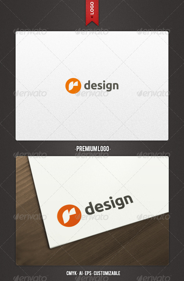 GraphicRiver R Design Logo Template 2163818
