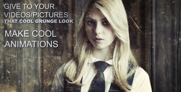 VideoHive Urban Explorer Grunge Animations 2165137