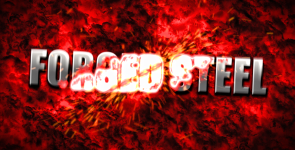 After Effects Project - VideoHive Forged Steel Action Titles 245540