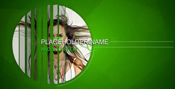 After Effects Project - VideoHive Green Line 243580