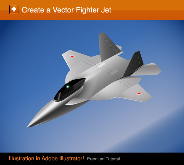 Create a Vector Fighter Jet