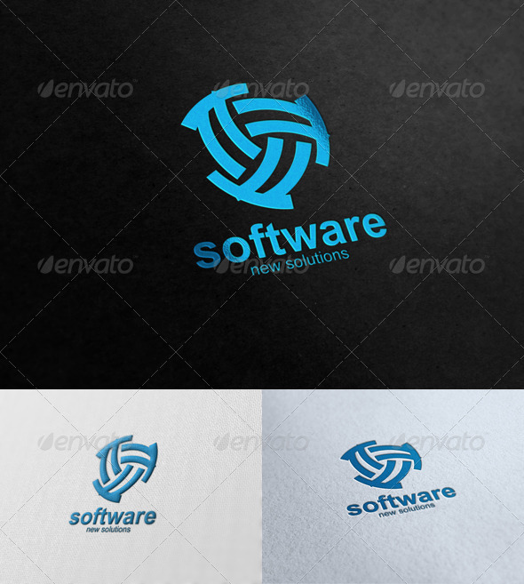 Graphic River Software Solutions Logo Templates -  Symbols 591469