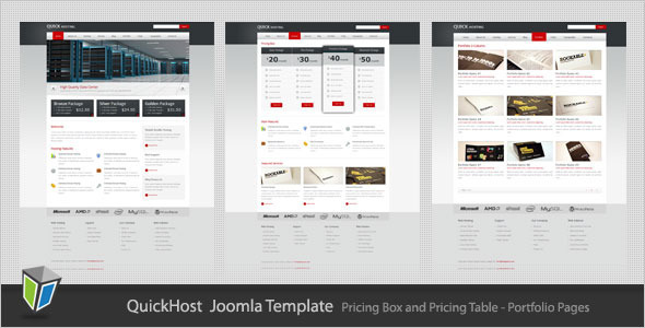 ThemeForest Quick Host Business and Hosting Joomla Template 2177038