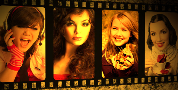 After Effects Project - VideoHive Filmstrip 246792