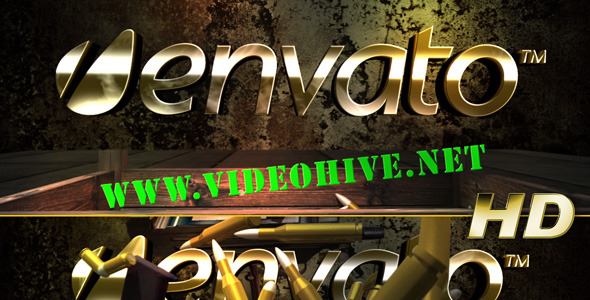 After Effects Project - VideoHive Guns'N'Ammo Logo Reveal 2179315