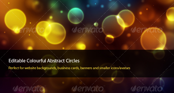 GraphicRiver Colourful Abstract Circles 31204