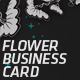 Flower Business Card - GraphicRiver Item for Sale