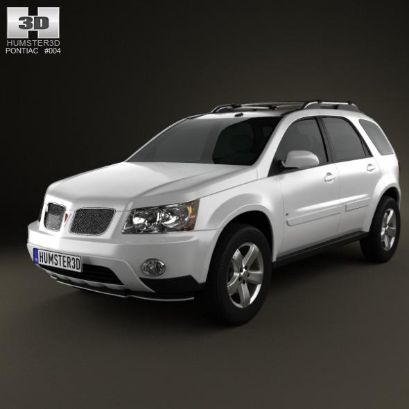 3DOcean Pontiac Torrent 2006 3D Models -  Vehicles  Land  Cars 2188338