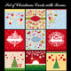 Set Of Different Christmas And New Year Cards - GraphicRiver Item for Sale