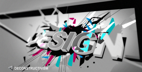 After Effects Project - VideoHive Deconstructivism 2191025
