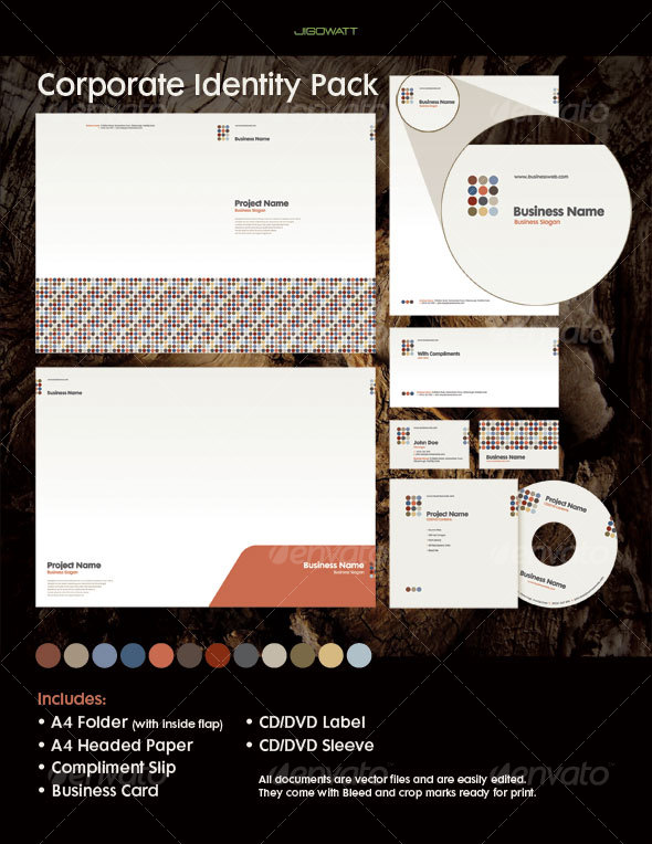 GraphicRiver Corporate Identity Pack 81405