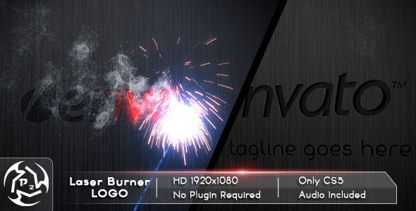 After Effects Project - VideoHive Laser Burner Logo 2192545