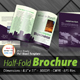 Business Half-Fold Brochure [4 Pages ] Print Ready - GraphicRiver Item for Sale