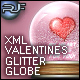 Shakeable animated holiday glitter globe XML eCard - ActiveDen Item for Sale